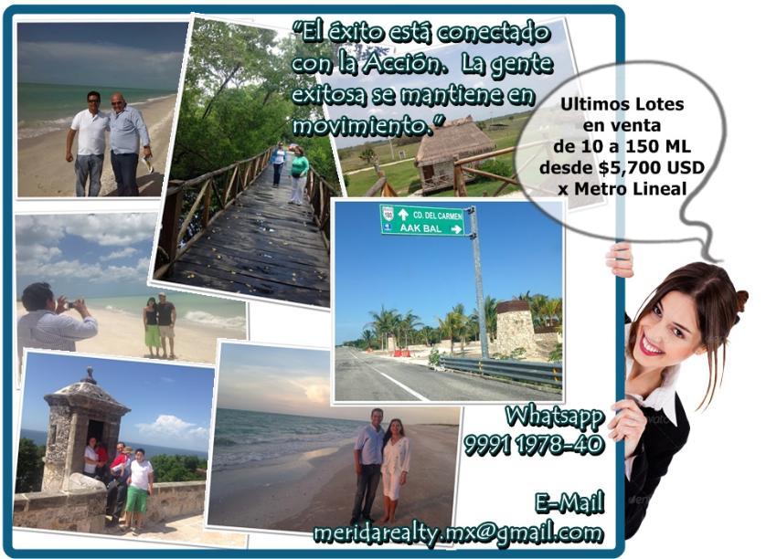 Lotes En Playas Virgenes Entre Isla Aguada Y Sabancuy: 150 Lotes De Terrenos En Venta En Campeche