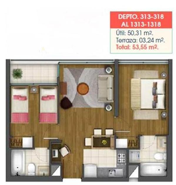 Departamento 0313 y 0318