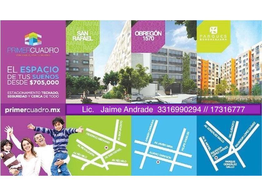 Departamento en Venta Al Centro De La Zona Metropolitana De Guadalajara, Zona Centro, Guadalajara
