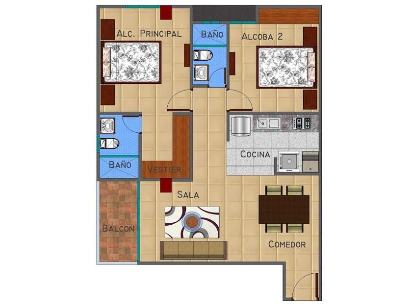 Apartamento en Venta en Cra 38 #58-45, El Recreo, Barranquilla