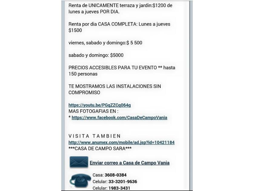 Casa en Renta Carreta 44, Ixtlahuacán De Los Membrillos