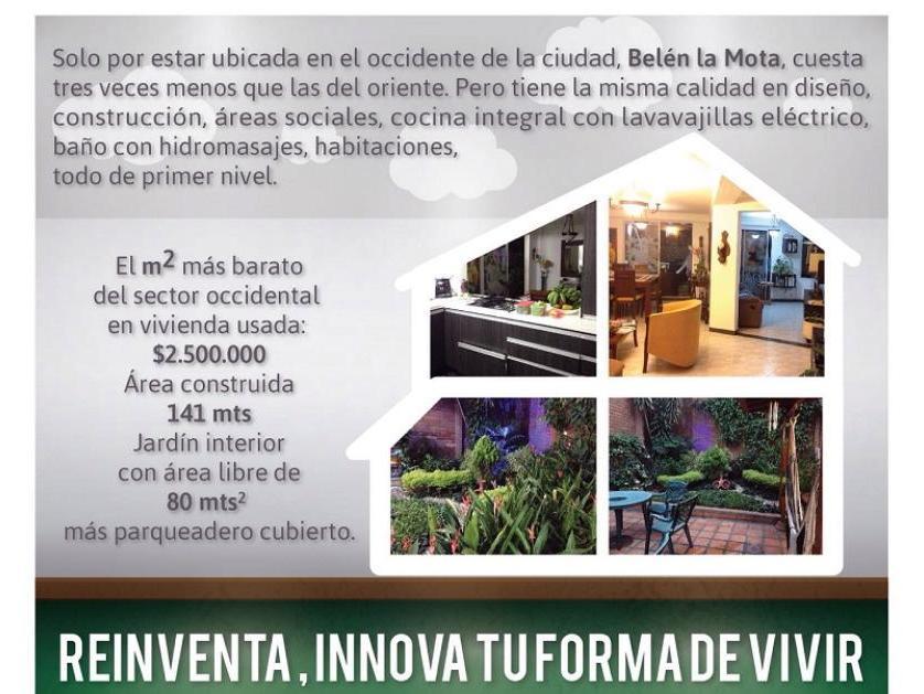 Casa en Venta en Cll 2b 75d-49 Casa 158, La Mota, Medellín