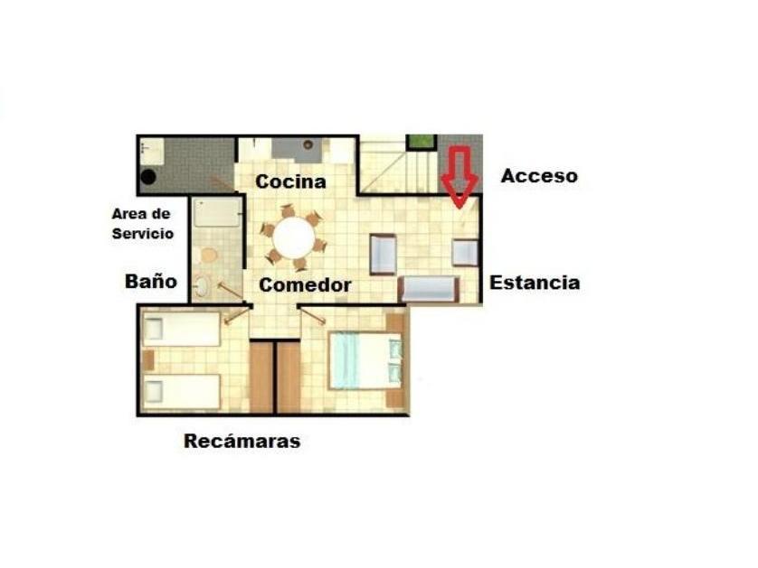 Departamento en Venta La Estancia Queretaro, Sonterra Iv, Santiago De Querétaro