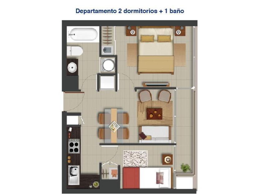 Departamento 1422