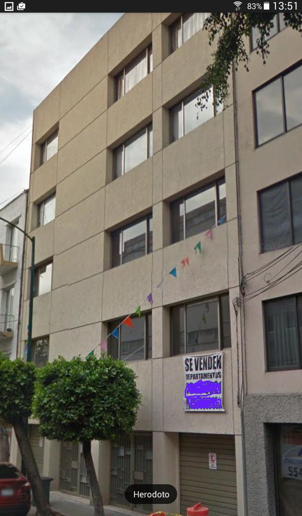 Departamento en Venta Herodoto 20, Zona Centro, Ciudad De México