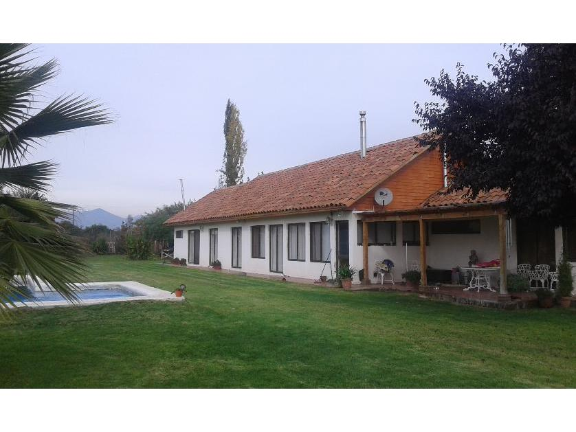 Excelente Casa 290 m2 en Parcela de 5154 m2 Colonia Alemana, Peñaflor