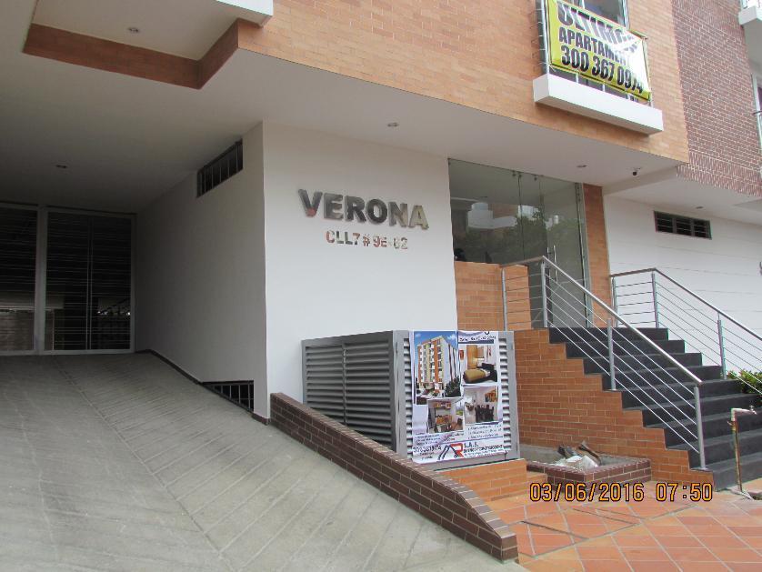 Apartamento en Venta Calle 7 # 9e-62 Edificio Verona Barrio Colsag, Cúcuta, Norte De Santander