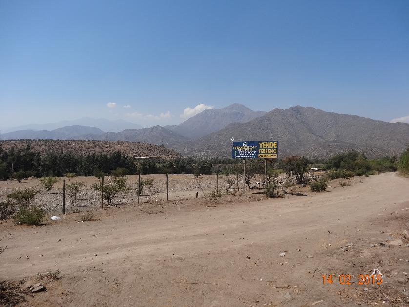 FERNANDEZ ESCOBAR Vende Terreno Agricola Puerto Terrestre Los Andes